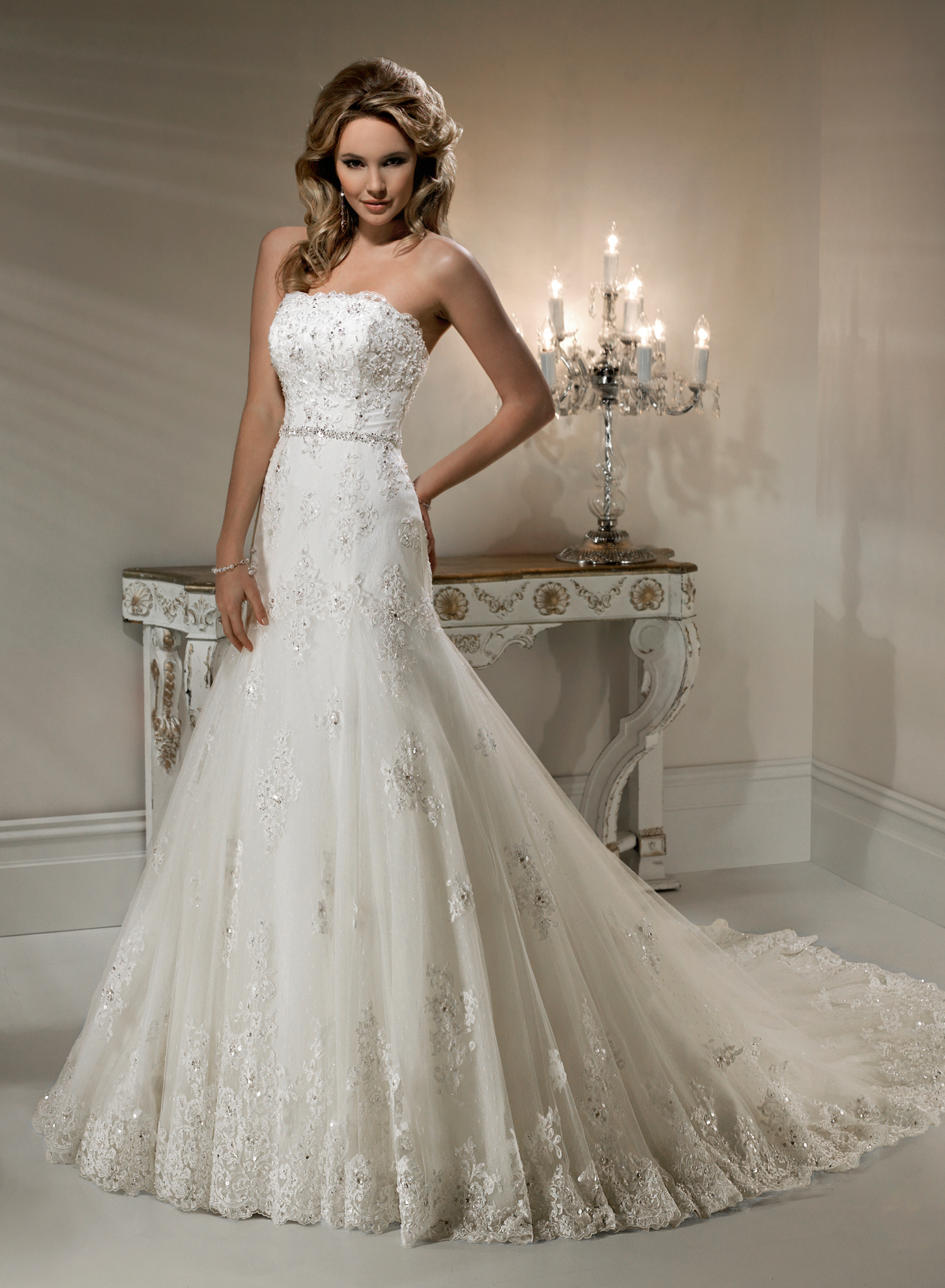 Gown of absolute \'elegance & beauty\'   i spy a wedding